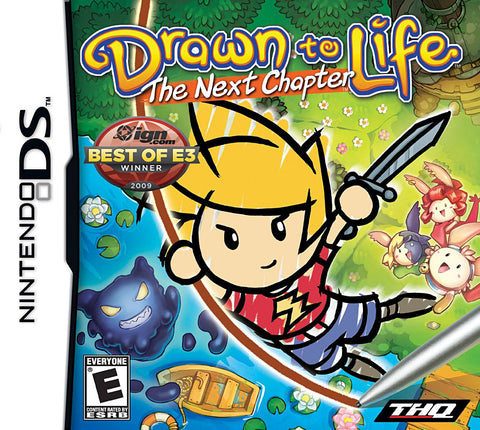 Drawn To Life - The Next Chapter (DS) DS Game