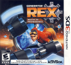 Generator Rex - Agent Of Providence (Bilingual Cover) (3DS)