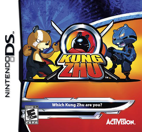 Kung Zhu (Bilingual Cover) (DS) DS Game
