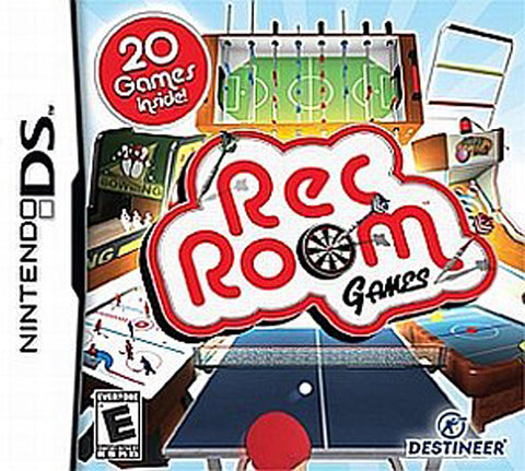 Rec Room Games (Bilingual Cover) (DS) DS Game