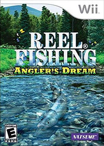 Reel Fishing - Angler's Dream (Bilingual Cover) (NINTENDO WII) NINTENDO WII Game