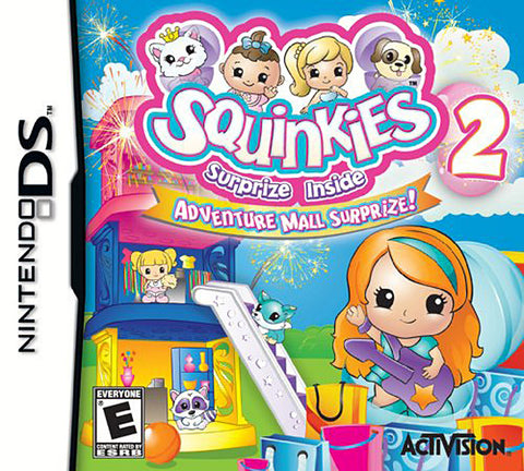 Squinkies 2 Surprise Inside - Adventure Mall Surprize (Bilingual Cover) (DS) DS Game