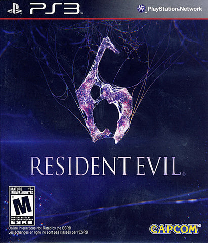 Resident Evil 6 (Bilingual Cover) (PLAYSTATION3) PLAYSTATION3 Game