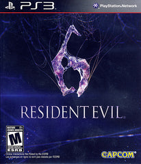 Resident Evil 6 (Bilingual Cover) (PLAYSTATION3)