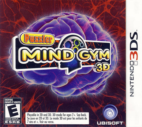 Puzzler Mind Gym 3D (Bilingual Cover) (3DS) 3DS Game