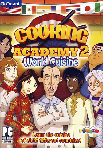 Cooking Academy 2 - World Cuisine (PC) PC Game