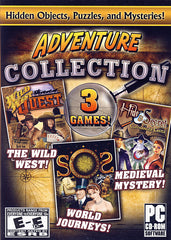 Adventure Collection (3 Games) Hidden Objects, Puzzles, & Mysteries! (PC)