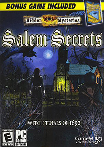 Hidden Mysteries: Salem Secrets - Witch Trials of 1692 (PC) PC Game