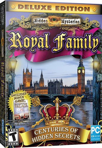 Hidden Mysteries: Royal Family Secrets - Centuries of Hidden Secrets (Deluxe Edition) (PC) PC Game
