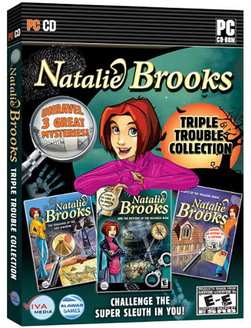 Natalie Brooks: Triple Trouble Collection - 3 Complete Mysteries to Unravel (PC) PC Game