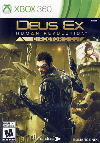 Deus Ex - Human Revolution (Director s Cut) (Bilingual Cover) (XBOX360) XBOX360 Game