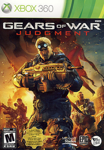 Gears Of War - Judgment (Bilingual Cover) (XBOX360) XBOX360 Game