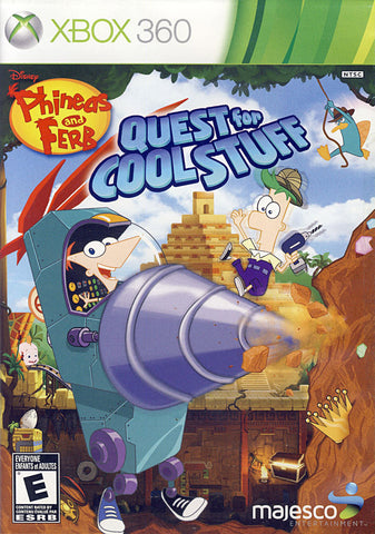 Phineas and Ferb - Quest for Cool Stuff (Bilingual Cover) (XBOX360) XBOX360 Game