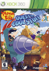 Phineas and Ferb - Quest for Cool Stuff (Bilingual Cover) (XBOX360)