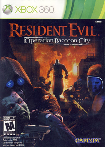 Resident Evil - Operation Raccoon City (Bilingual Cover) (XBOX360) XBOX360 Game