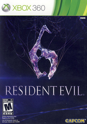 Resident Evil 6 (Bilingual Cover) (XBOX360) XBOX360 Game