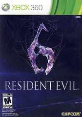 Resident Evil 6 (Bilingual Cover) (XBOX360)