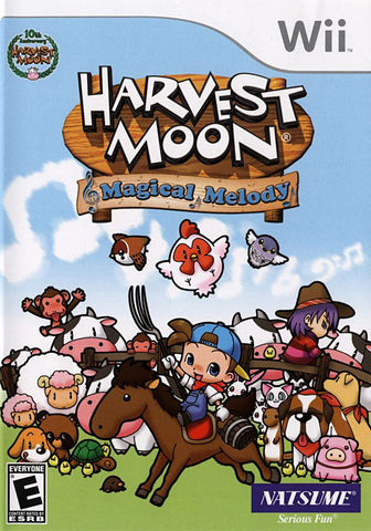 Harvest Moon - Magical Melody (NINTENDO WII) NINTENDO WII Game