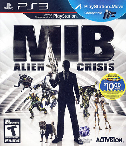 Men In Black - Alien Crisis (Bilingual Cover) (PLAYSTATION3) PLAYSTATION3 Game