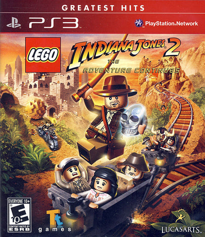 LEGO Indiana Jones 2 - The Adventure Continues (PLAYSTATION3) PLAYSTATION3 Game