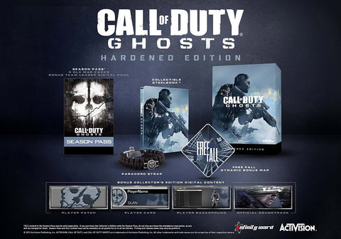 Call of Duty - Ghosts (Hardened Edition) (PLAYSTATION4) PLAYSTATION4 Game