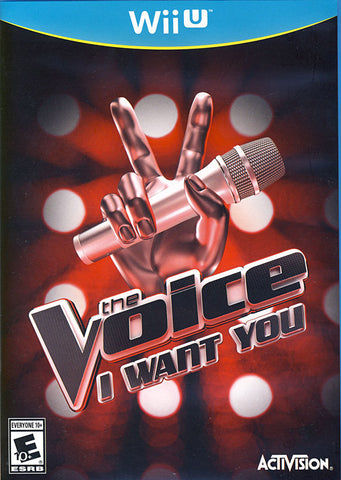 The Voice - I Want You (Game Only) (NINTENDO WII U) NINTENDO WII U Game