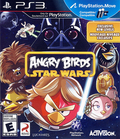 Angry Birds - Star Wars (Bilingual Cover) (PLAYSTATION3) PLAYSTATION3 Game