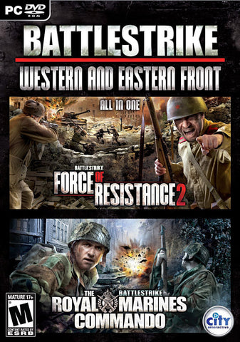 Royal Marines Commando / Battlestrike Force of Resistance 2 (Action Pack) (PC) PC Game