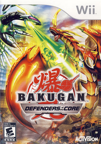 Bakugan Battle Brawlers - Defenders of the Core (Bilingual Cover) (NINTENDO WII) NINTENDO WII Game