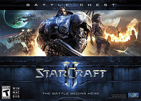 Starcraft II (2) : Battle Chest - PC/Mac (PC) PC Game
