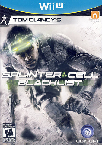 Tom Clancy s Splinter Cell - Blacklist (Trilingual Cover) (NINTENDO WII U) NINTENDO WII U Game