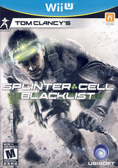 Tom Clancy s Splinter Cell - Blacklist (Trilingual Cover) (NINTENDO WII U)