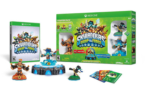 Skylanders Swap Force Starter Pack (Bilingual Cover) (XBOX ONE) XBOX ONE Game