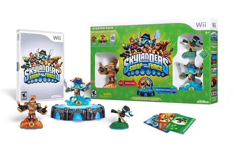 Skylanders Swap Force Starter Pack (Bilingual Cover) (NINTENDO WII) NINTENDO WII Game