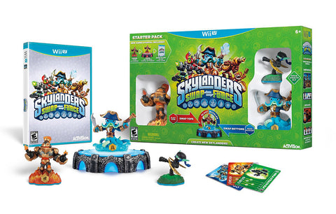 Skylanders SWAP Force Starter Pack (Bilingual Cover) (NINTENDO WII U) NINTENDO WII U Game