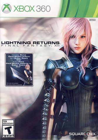 Lightning Returns - Final Fantasy XIII (Bilingual Cover) (XBOX360) XBOX360 Game