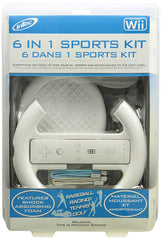 Intec 6 in 1 Sports Kit (NINTENDO WII)