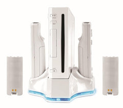 Intec Charging Dock and Turbo Cooler (White) (NINTENDO WII)