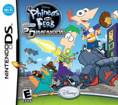 Phineas and Ferb - Across the 2nd Dimension (DS)
