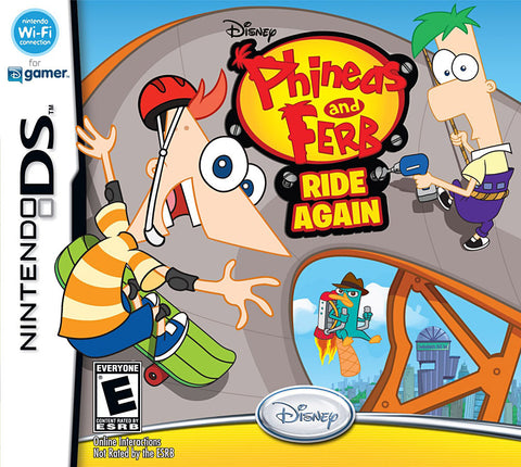 Phineas and Ferb - Ride Again (DS) DS Game