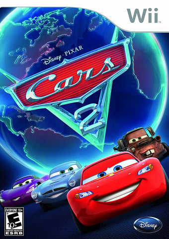 Cars 2 (Bilingual Cover) (NINTENDO WII) NINTENDO WII Game
