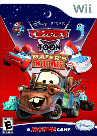 Cars Toon - Mater s Tall Tales (Bilingual Cover) (NINTENDO WII) NINTENDO WII Game