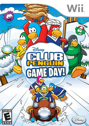 Club Penguin - Game Day! (NINTENDO WII) NINTENDO WII Game