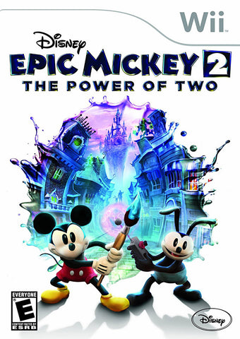 Disney Epic Mickey 2 - The Power of Two (NINTENDO WII) NINTENDO WII Game