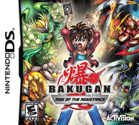 Bakugan - Rise of the Resistance (DS) DS Game