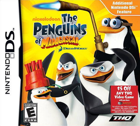 The Penguins of Madagascar (Bilingual Cover) (DS) DS Game