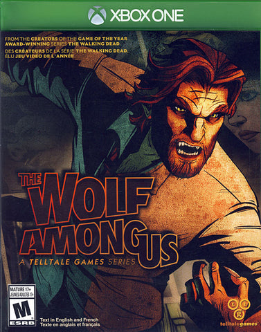 The Wolf Among Us (Bilingual Cover) (XBOX ONE) XBOX ONE Game