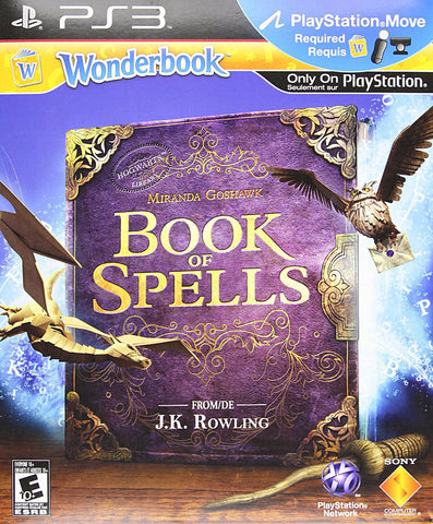 Wonderbook - Book of Spells (Bilingual Cover) (PLAYSTATION3) PLAYSTATION3 Game