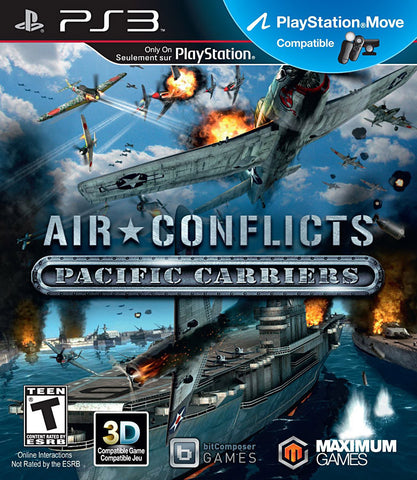 Air Conflicts - Pacific Carriers (PLAYSTATION3) PLAYSTATION3 Game