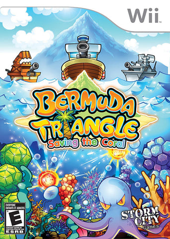 Bermuda Triangle - Saving the Coral (Bilingual Cover) (NINTENDO WII) NINTENDO WII Game